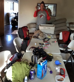 PACKING UP FOR THE BIKE TOUR