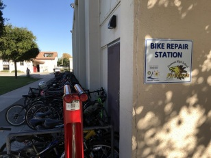 BIKE STATION AT FREMONT HIGH