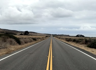 WIDE OPEN ROADS WITH VERY FEW CARS.