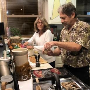 DINNER WITH ARLENE & KIETH
